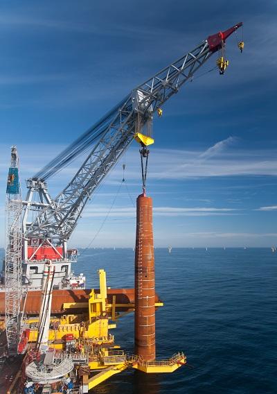 Wind turbine foundations